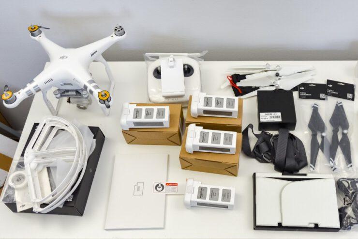 zaawansowany dron do filmowania